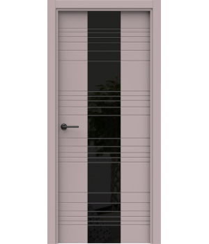 Дверь с ПВХ покрытием A-12