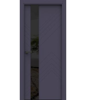 Дверь с ПВХ покрытием A-17
