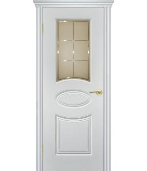 Дверь с ПВХ покрытием V-1