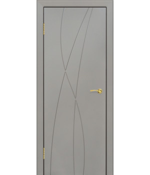 Дверь с ПВХ покрытием G-6