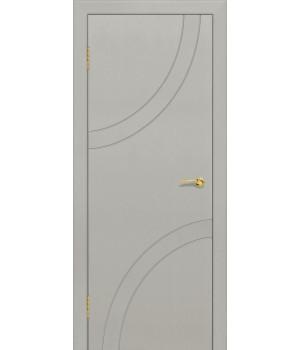 Дверь с ПВХ покрытием Дуга