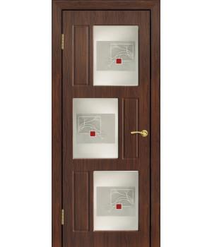 Дверь с ПВХ покрытием Гамма