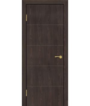 Дверь с ПВХ покрытием Лайн 2