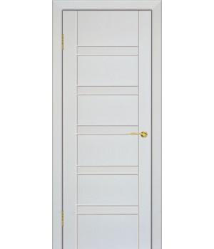 Дверь с ПВХ покрытием Лайн 5