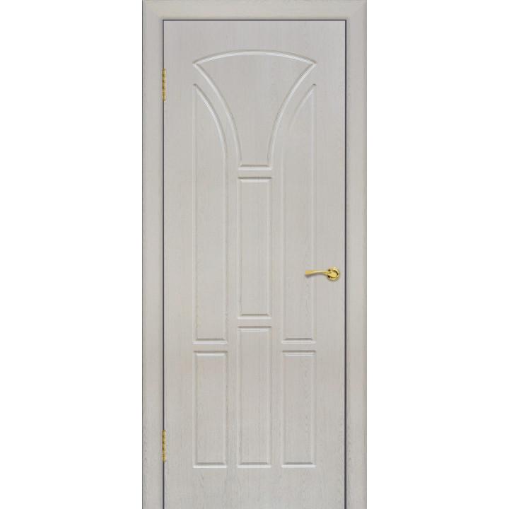 Дверь с ПВХ покрытием Лотос 1