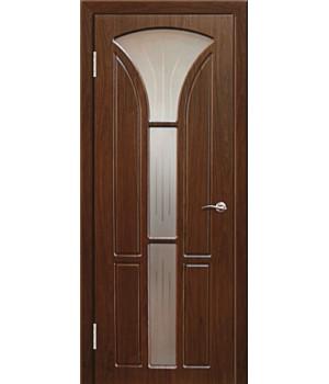 Дверь с ПВХ покрытием Лотос 2