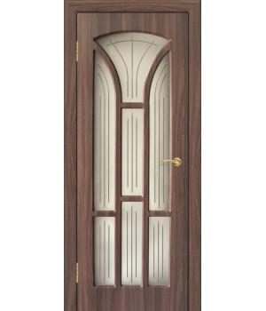 Дверь с ПВХ покрытием Лотос 3