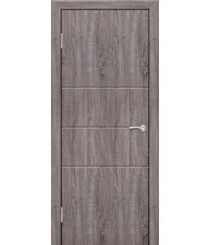 Дверь с ПВХ покрытием Техно 3