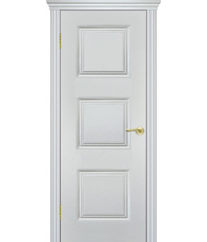 Дверь с ПВХ покрытием V-3