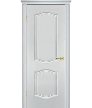 Дверь с ПВХ покрытием V-6