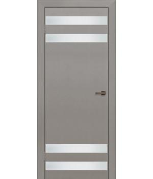 Дверь с ПВХ покрытием Домино 4