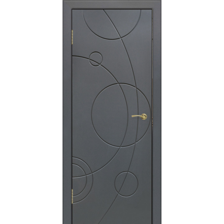 Дверь с ПВХ покрытием G-4