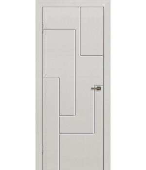 Дверь с ПВХ покрытием G-18