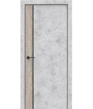 Дверь с ПВХ покрытием Style combi
