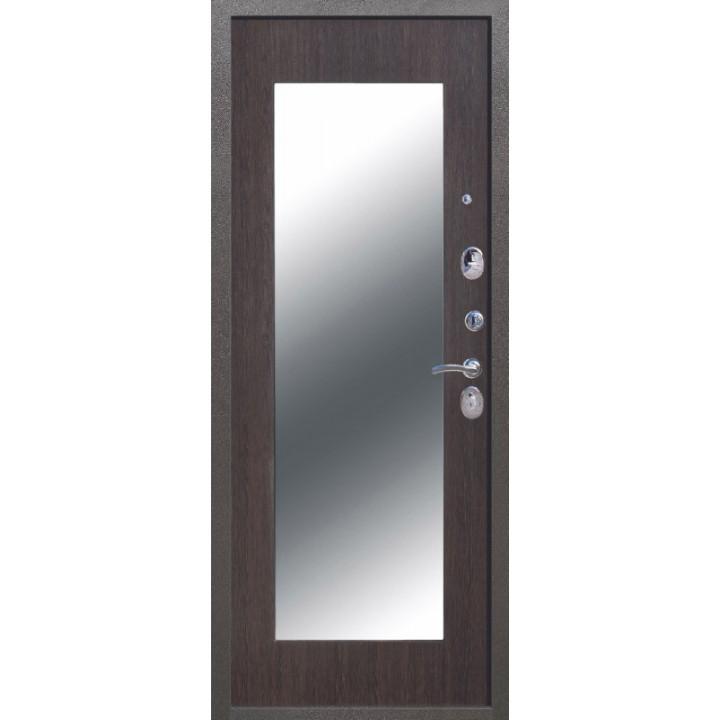 Входная дверь Троя Серебро Зеркало